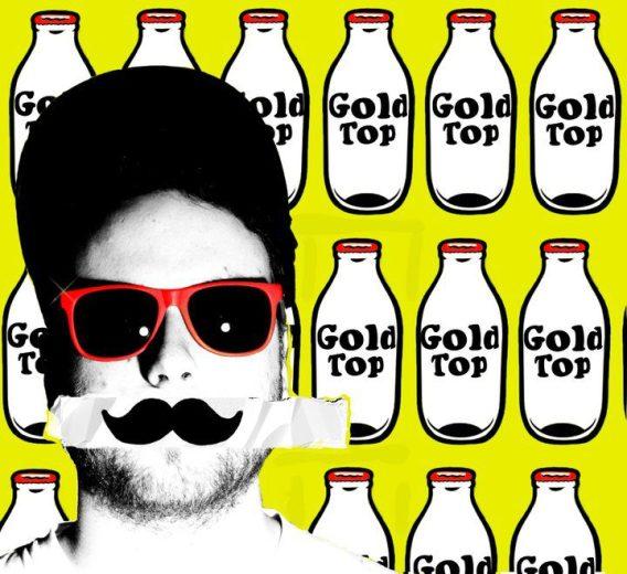 Gold Top Mustache