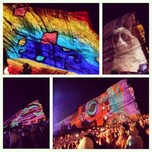 Rowdytown 2 Projection Mapping